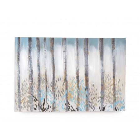 Cuadro gd bambus blue oleo...