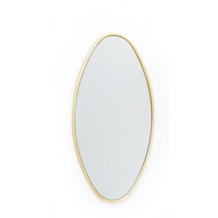 Espejo aluminio dorado 4...