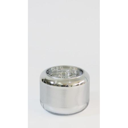 Macetero cristal plata pqño...