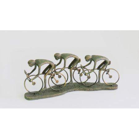 Escultura ciclistas...