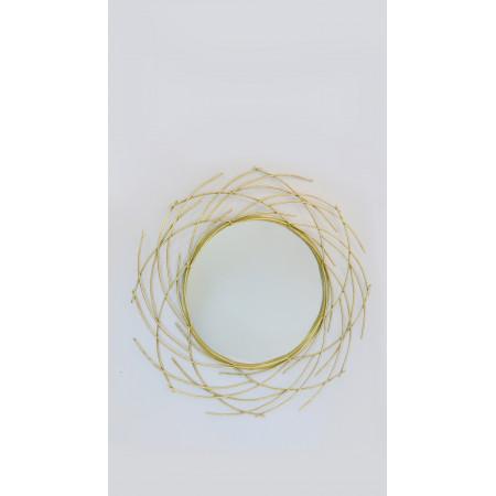 Espejo alumin forma de nido...
