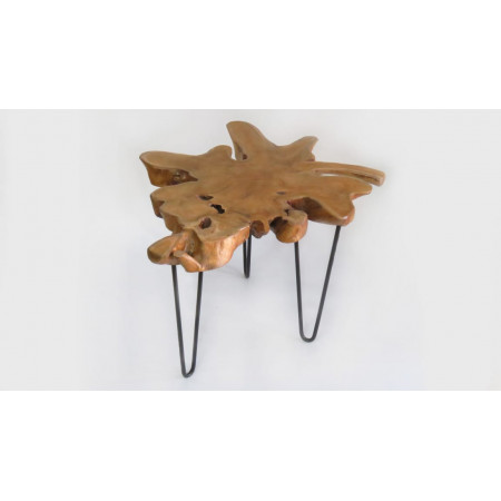 mesa centro auxiliar madera...