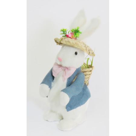 conejo paja blanco de lujo...