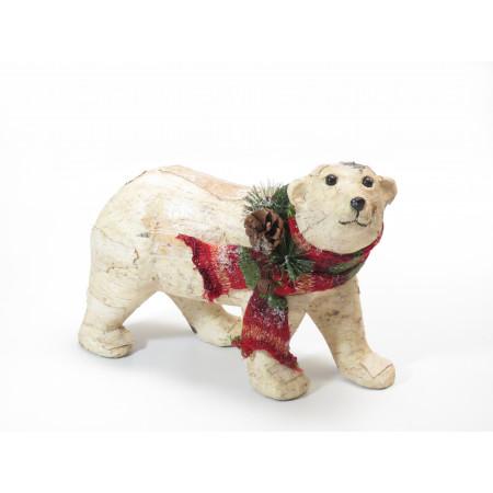 oso grande polar bufanda...